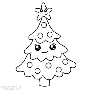 arbol de navidad dibujo
