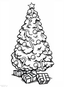 arbol de navidad para dibujar scaled