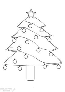 arbol de navidad para imprimir