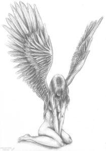 como dibujar angeles scaled