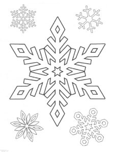 como hacer copos de nieve de papel scaled