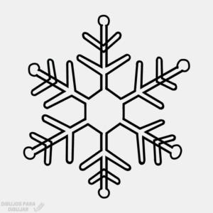 copos de nieve de papel paso a paso
