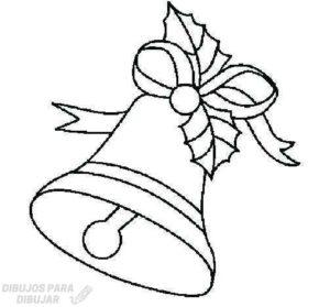 dibujo de campana para colorear