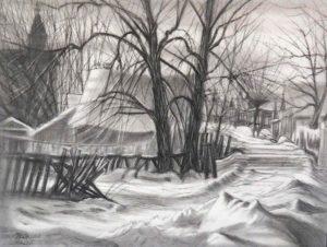 dibujos para colorear de nieve