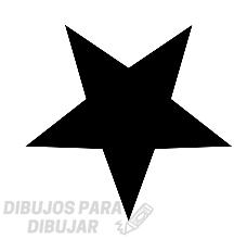 estrella dibujo