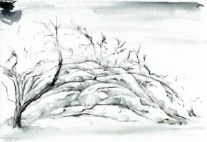 figuras de nieve navideñas scaled
