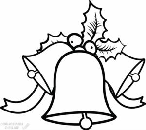 imagenes de campanas para colorear