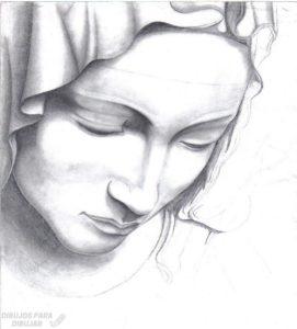imagenes de la rosa de guadalupe para dibujar