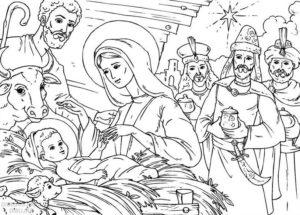 imagenes del nacimiento de jesus para niños