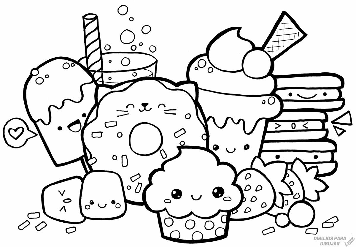 comida rapida dibujo