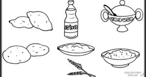alimentos nutritivos dibujos