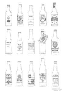 botella de cerveza dibujo scaled