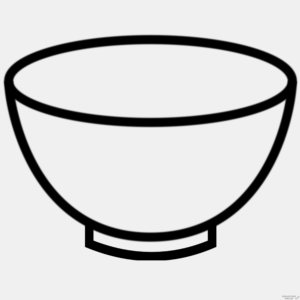 dibujar un plato