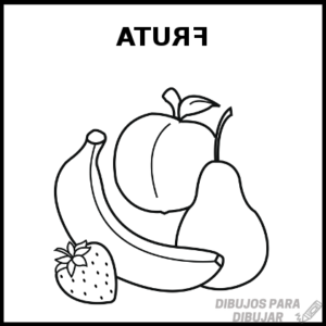 frutas para imprimir