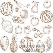 imagenes de frutas para dibujar