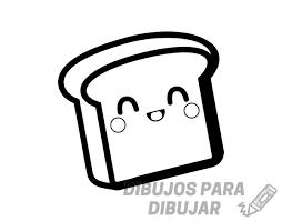 imagenes de pan para dibujar