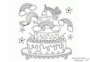 imagenes de pasteles infantiles