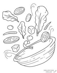 imagenes de verduras animadas