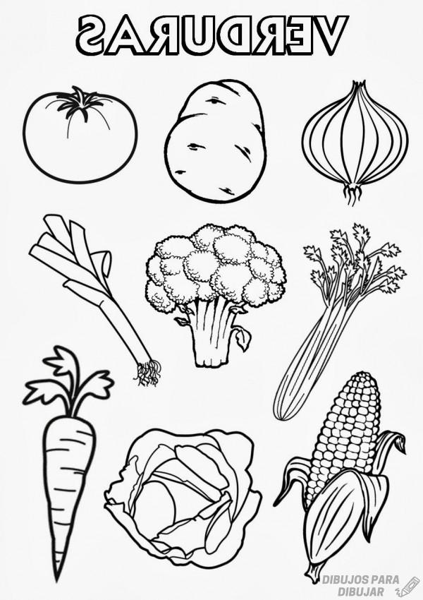 ᐈ Dibujos De Verduras Click Delicioso Dibujo