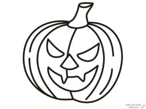 calabazas de halloween para dibujar