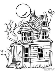 decoracion casa embrujada