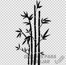 dibujos de bambú para pintar