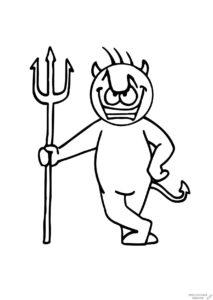 dibujos de diablos