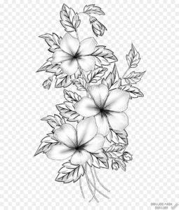 dibujos de flores para bordar
