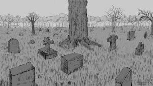 dibujos de tumbas