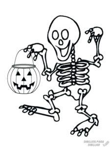 esqueleto humano para armar e imprimir