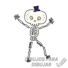 esqueleto para niños