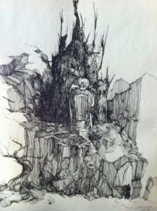 imagenes de castillos para dibujar