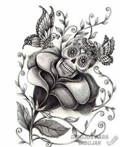 imagenes de catrinas para dibujar