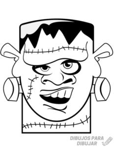 imagenes de frankenstein para dibujar