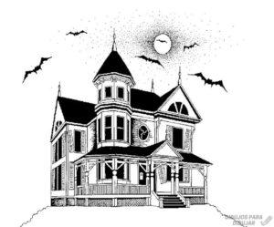 juegos de halloween casa embrujada