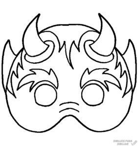 mascaras de cartulina