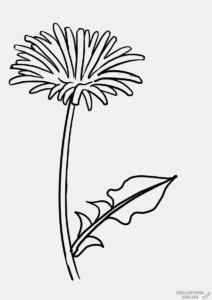 tattoo flor diente de leon